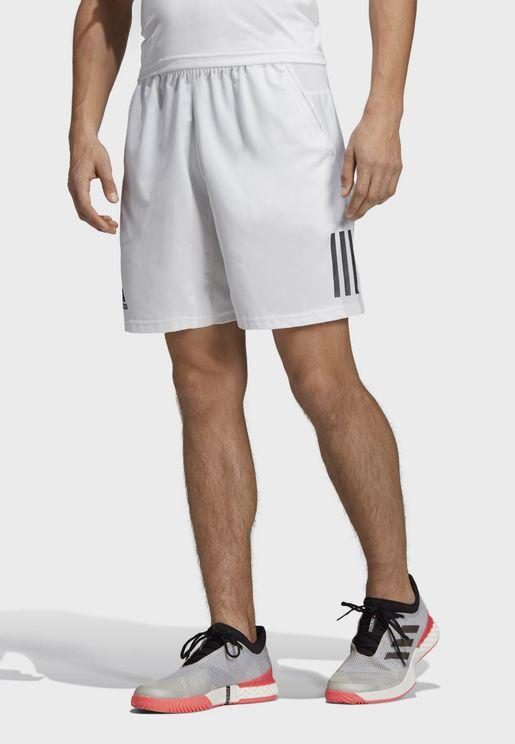 Club 3 Stripe Shorts