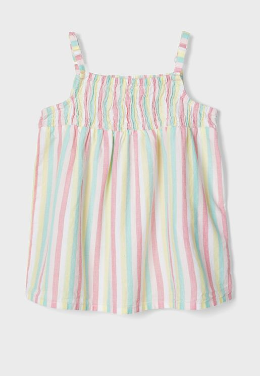 Kids Cami Stripped Top