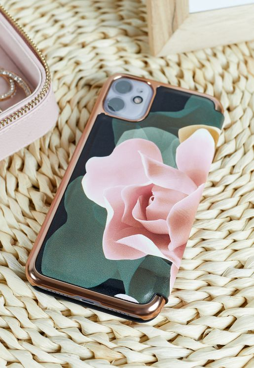 Sharita Mirror Folio Case Iphone 12