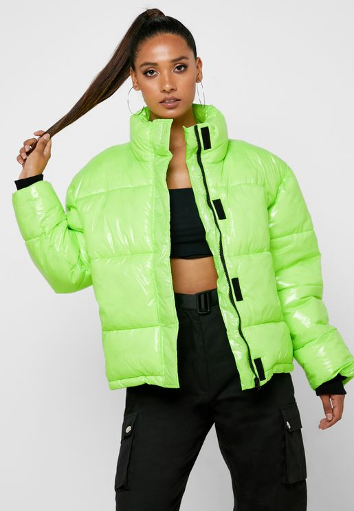 Puffer High Neck Jacket