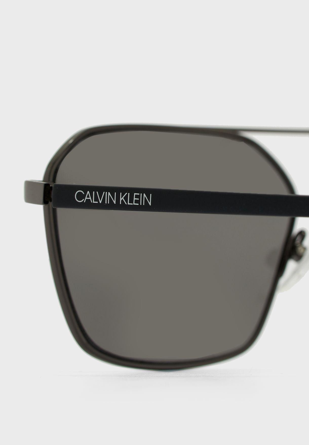 نظارة شمسية بعدسات مربعة CK20300S