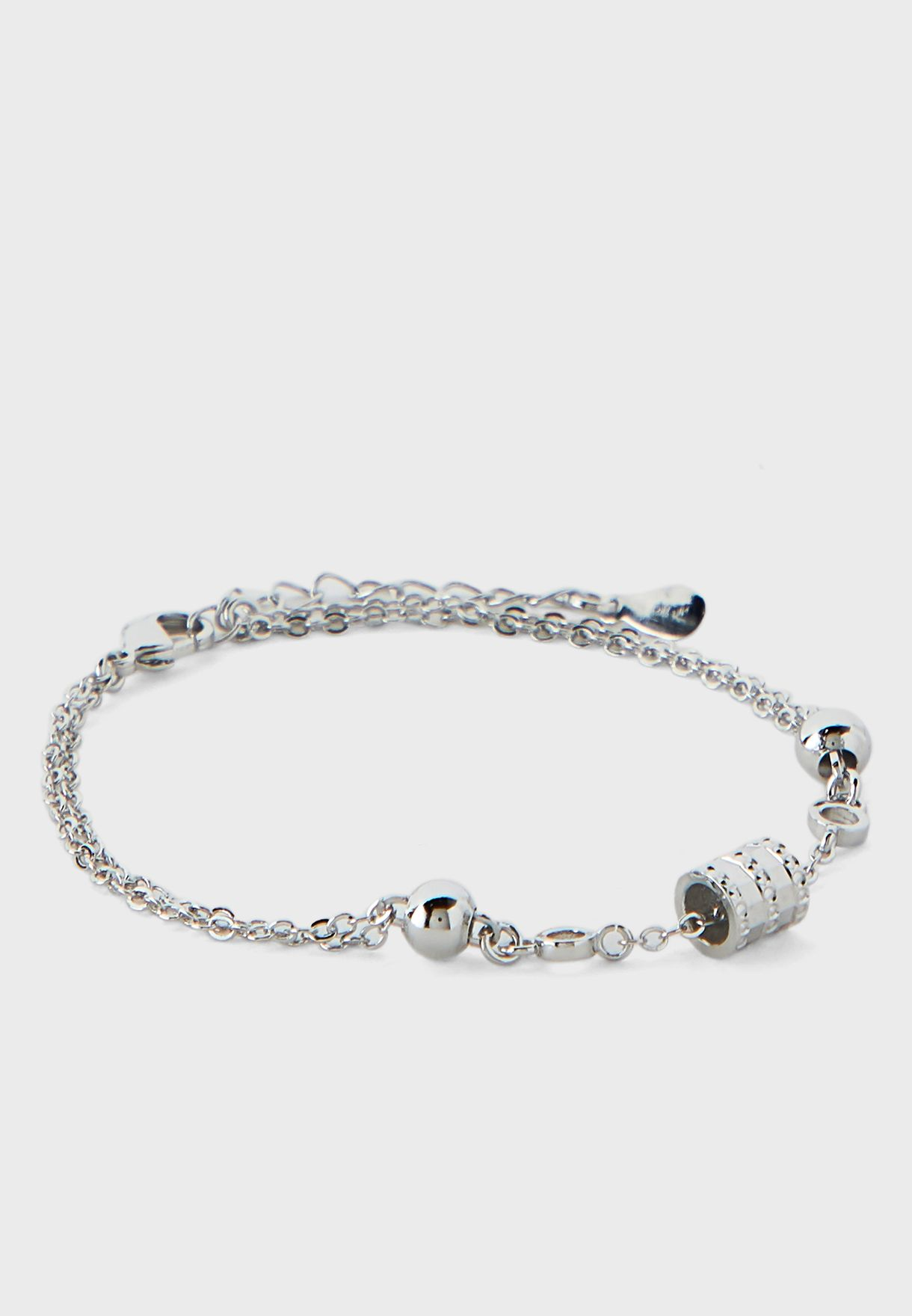 Tri Tone Watch and Bracelet Gift Set