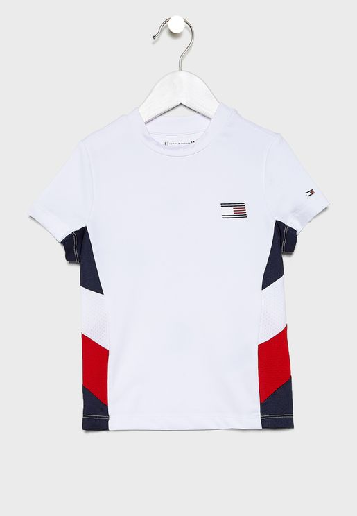 Youth Logo Colour Block T-Shirt