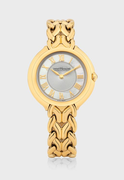 ساعة بارقام رومانية