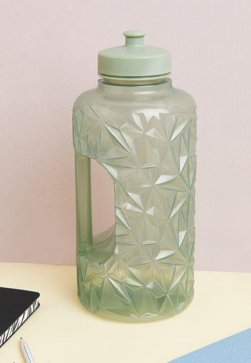 Faceted Drink Bottle