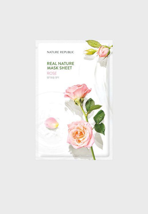 Real Nature Rose Mask Sheet
