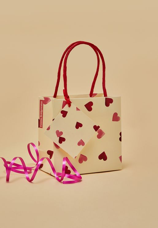 New Hearts Small Gift Bag