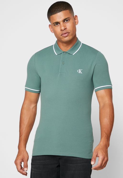 Tipped Slim Fit Polo