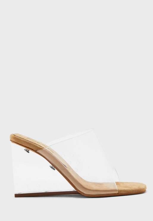 Acetate High Heel Sandal