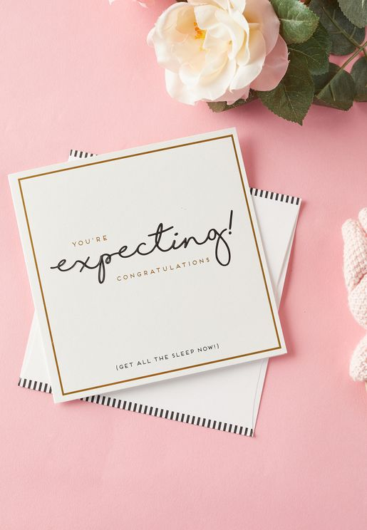 You'Re Expecting Card