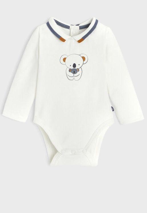 Infant Koala Print Bodysuit