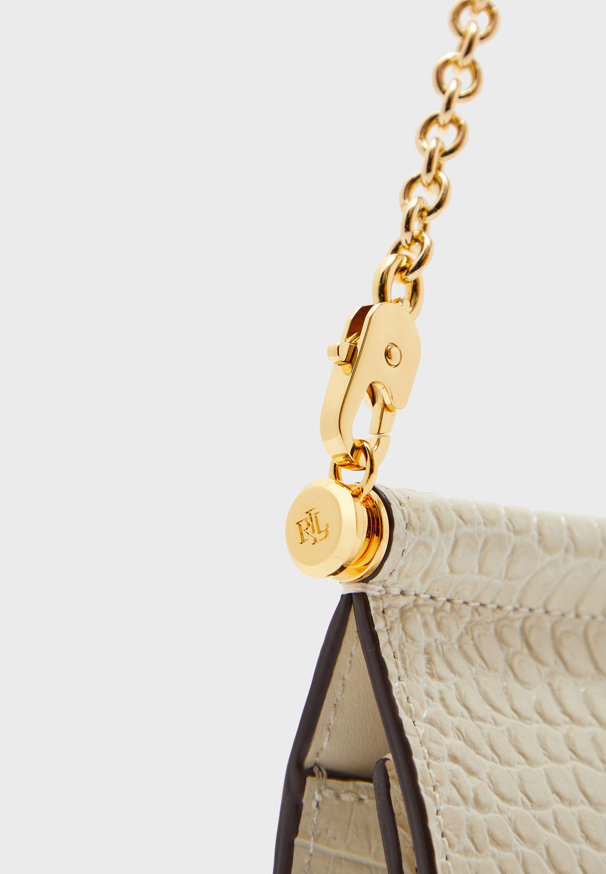 Chain Detail Flap Over Crossbody