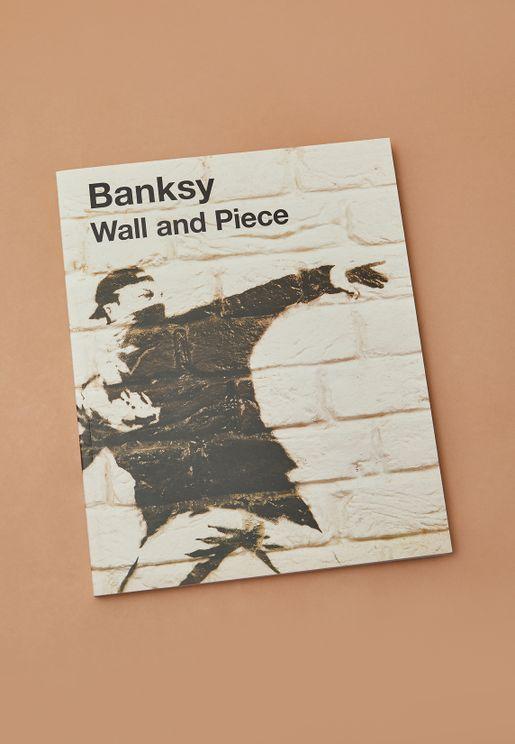 "كتاب ""Wall And Piece Banksy"""