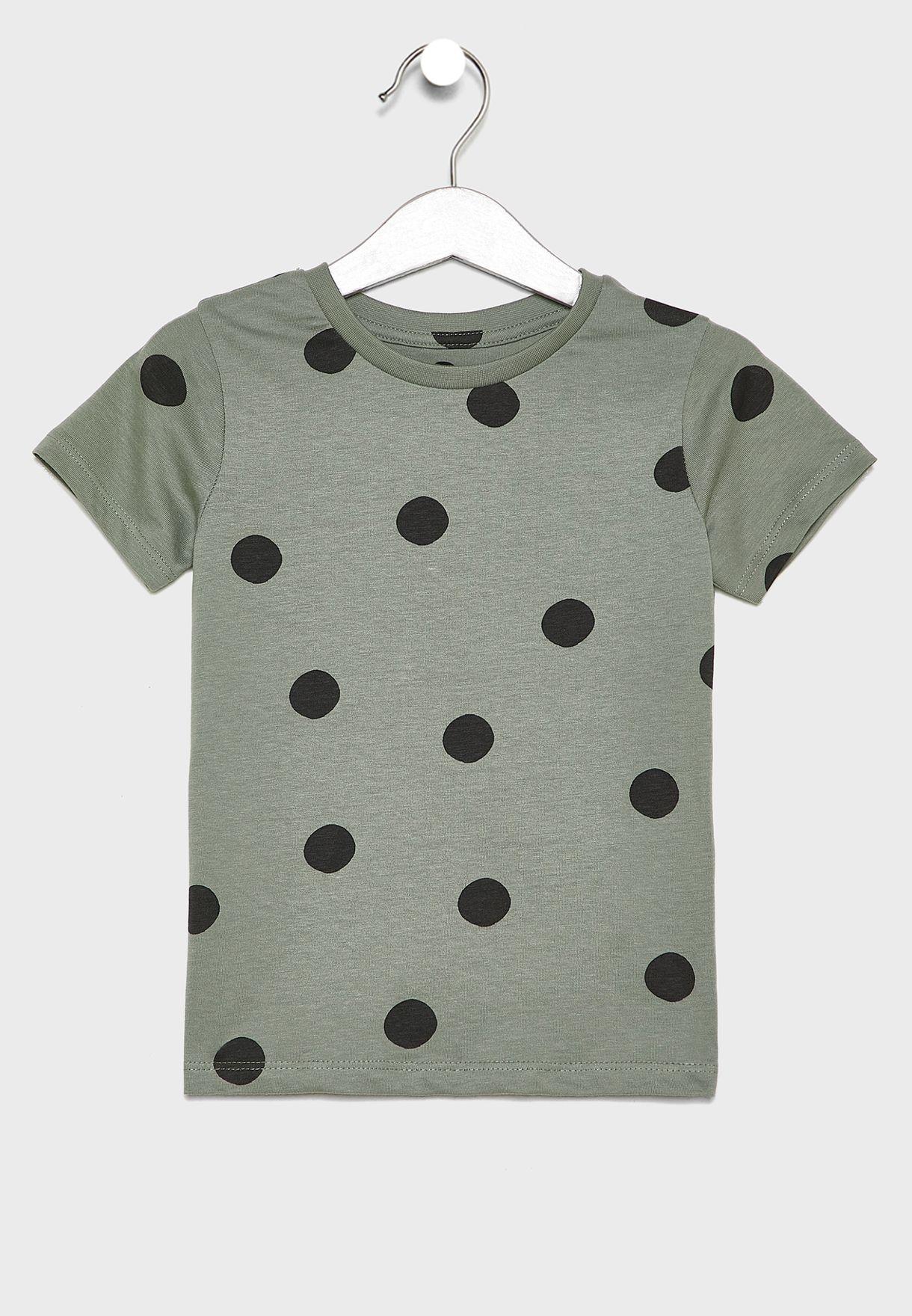 Kids Polka Dot T-Shirt