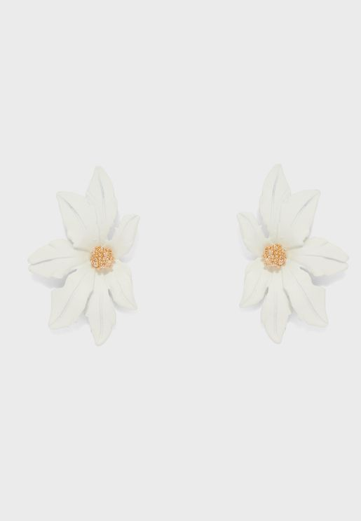 Stud Flower Earrings