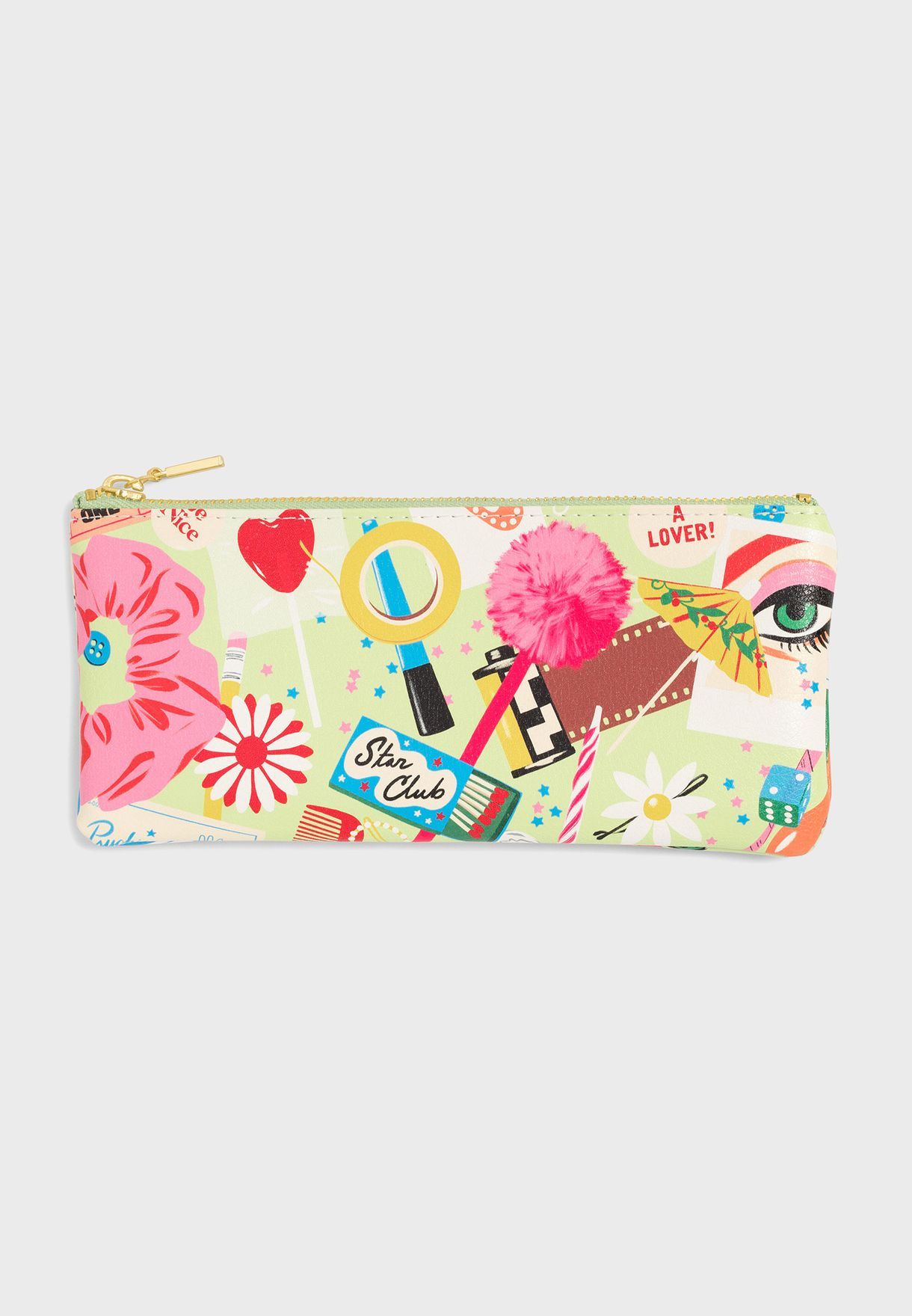 Printed Pencil Case