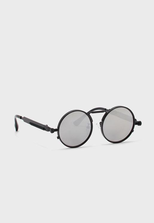 Round Mini Retro Sunglasses