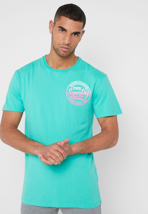 Ticket Type Crew Neck T-Shirt