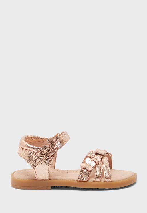 Infant Butterfly Detail Sandal