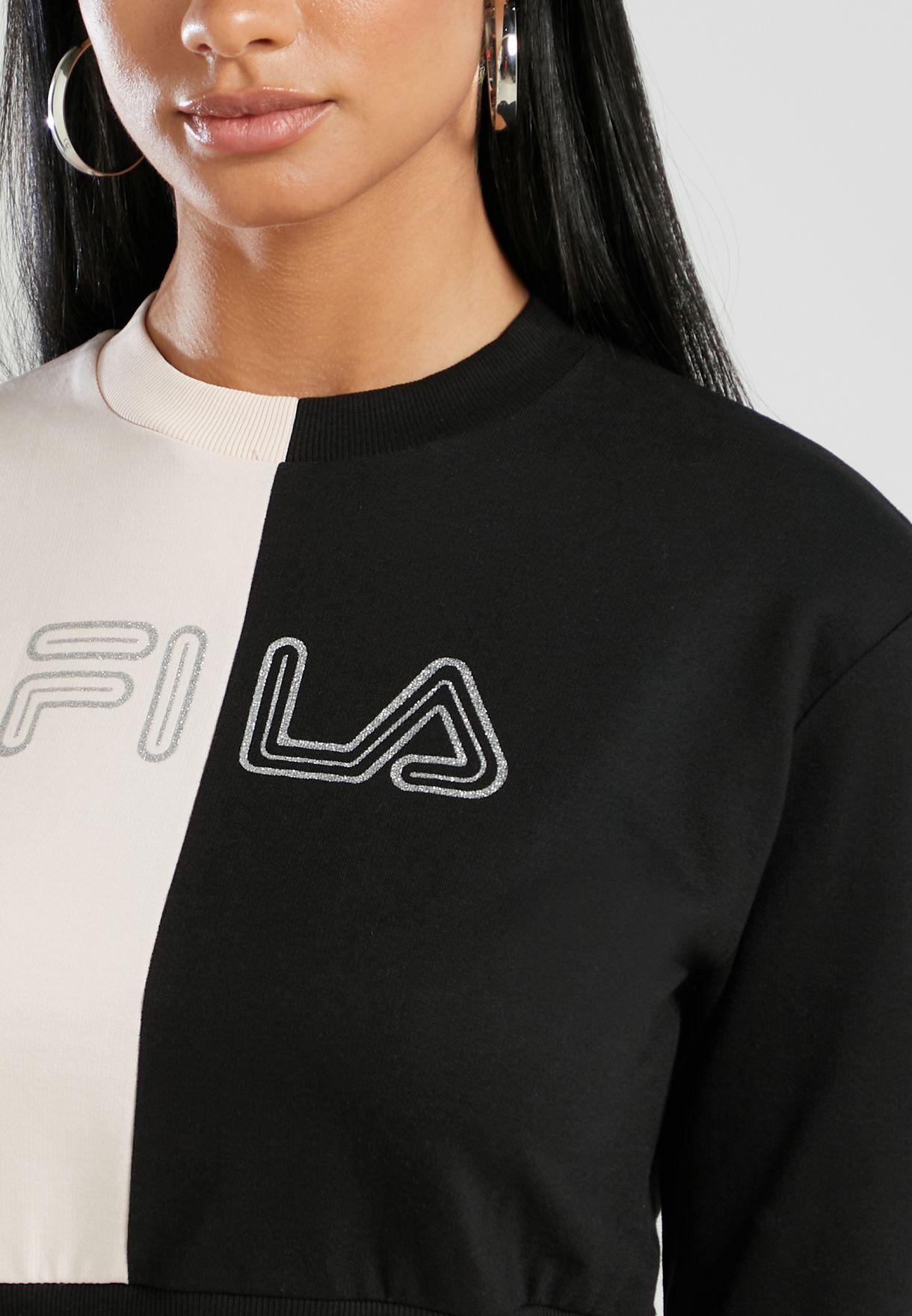 Juni Colour Block Sweatshirt
