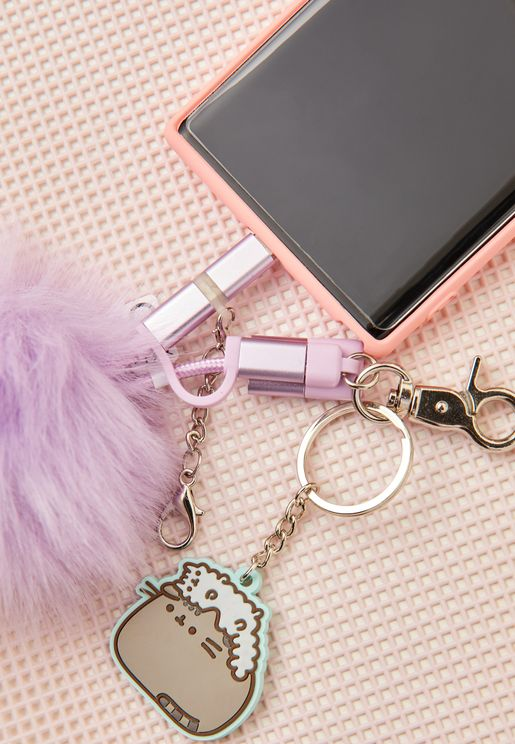 Pusheen Pom Pom Charging Cable