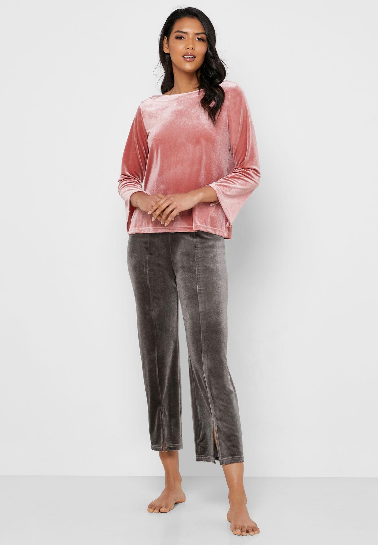 Velvet Lounge Pyjama Set