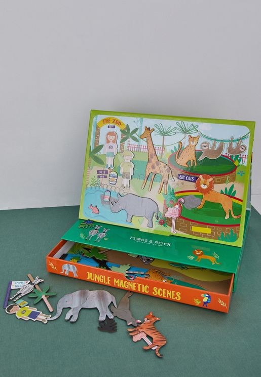 Magnetic Jungle Play Set