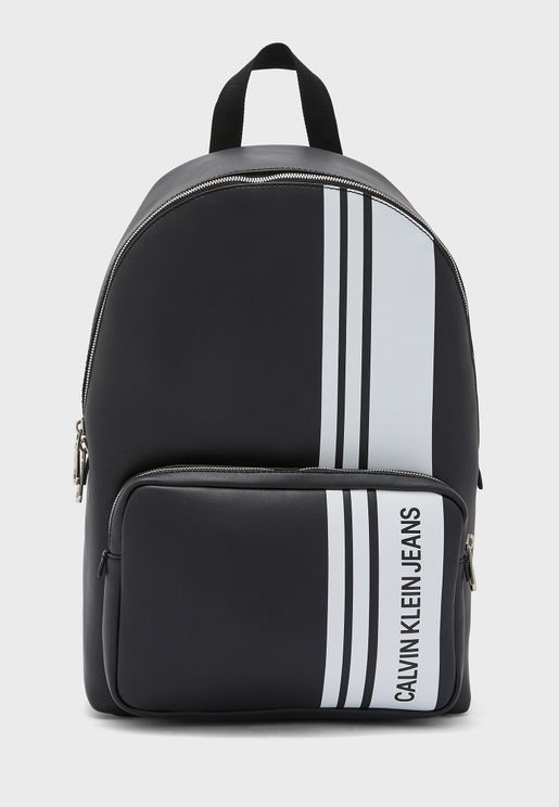 Side Stipe Backpack