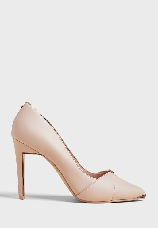 Axealli Suede Bow Detail Pump