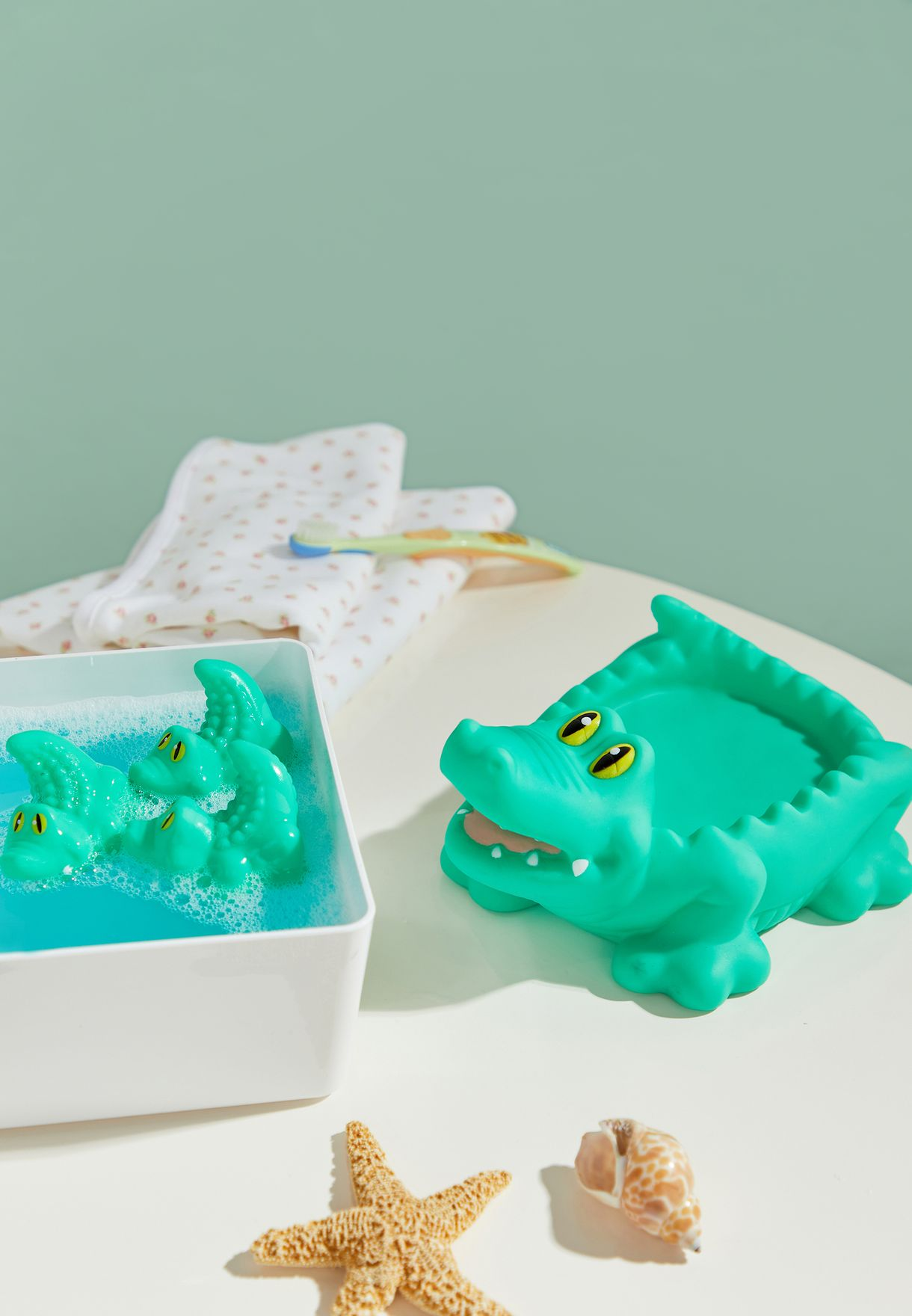 3 Pack Crocodile Bath Toy