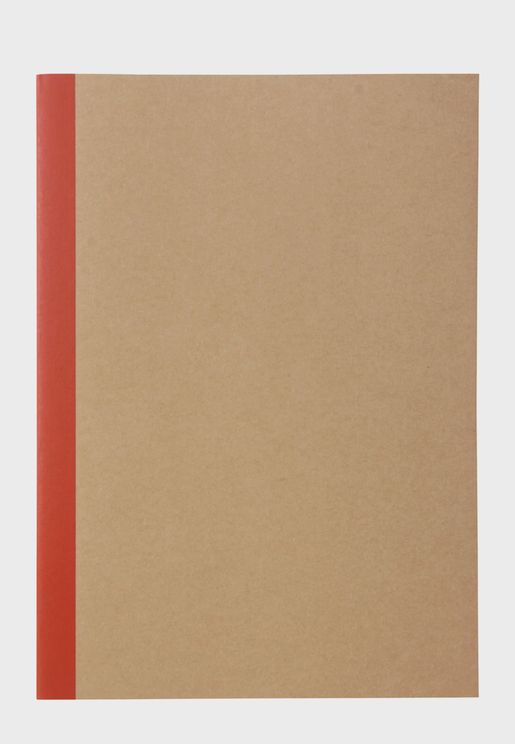 Notebook Plain Beige
