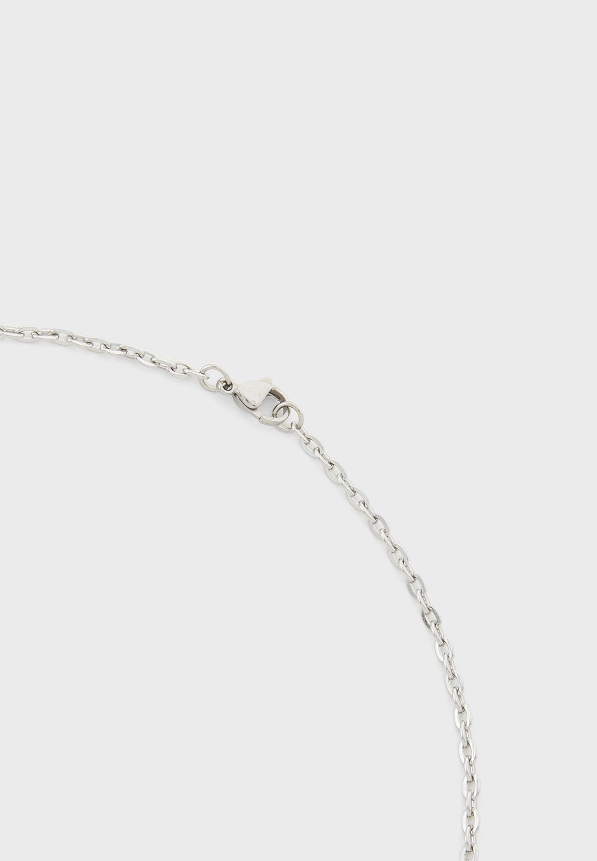Interlock Rinf Necklace