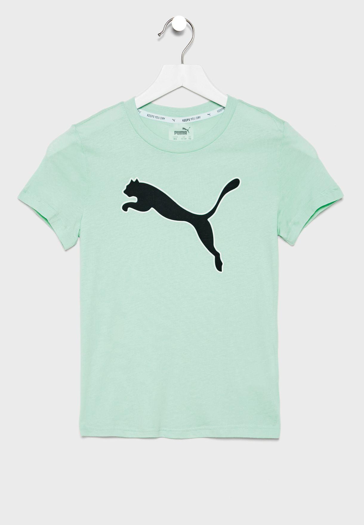 Kids Modern Sports Logo T-Shirt