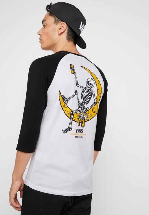 97b9c1bf7b Moonshine Raglan T-Shirt