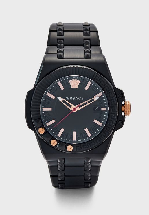 Chain Reaction Analog Watch