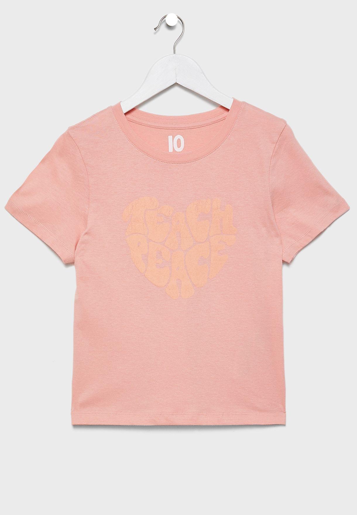 Kids Teach Peace T-Shirt