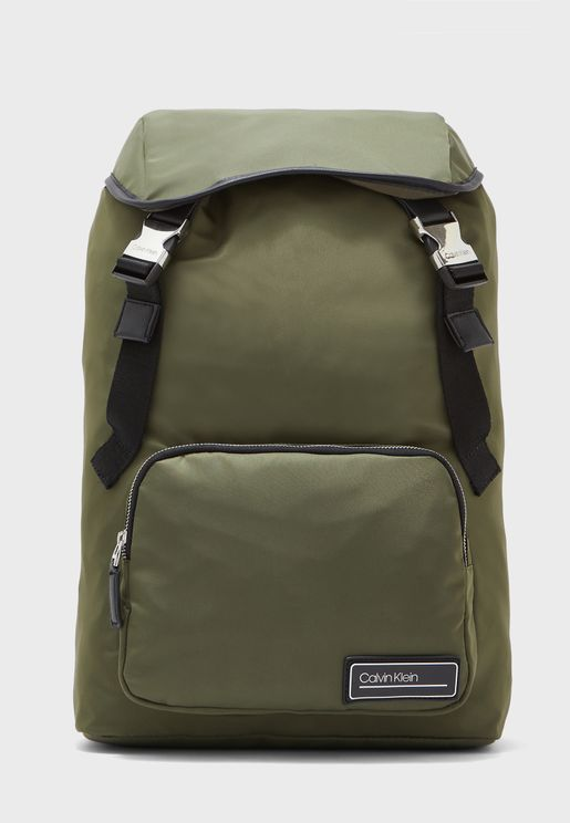 Casual Flap Over Backpack