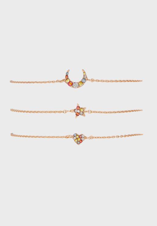 Multipack Amore Bracelets