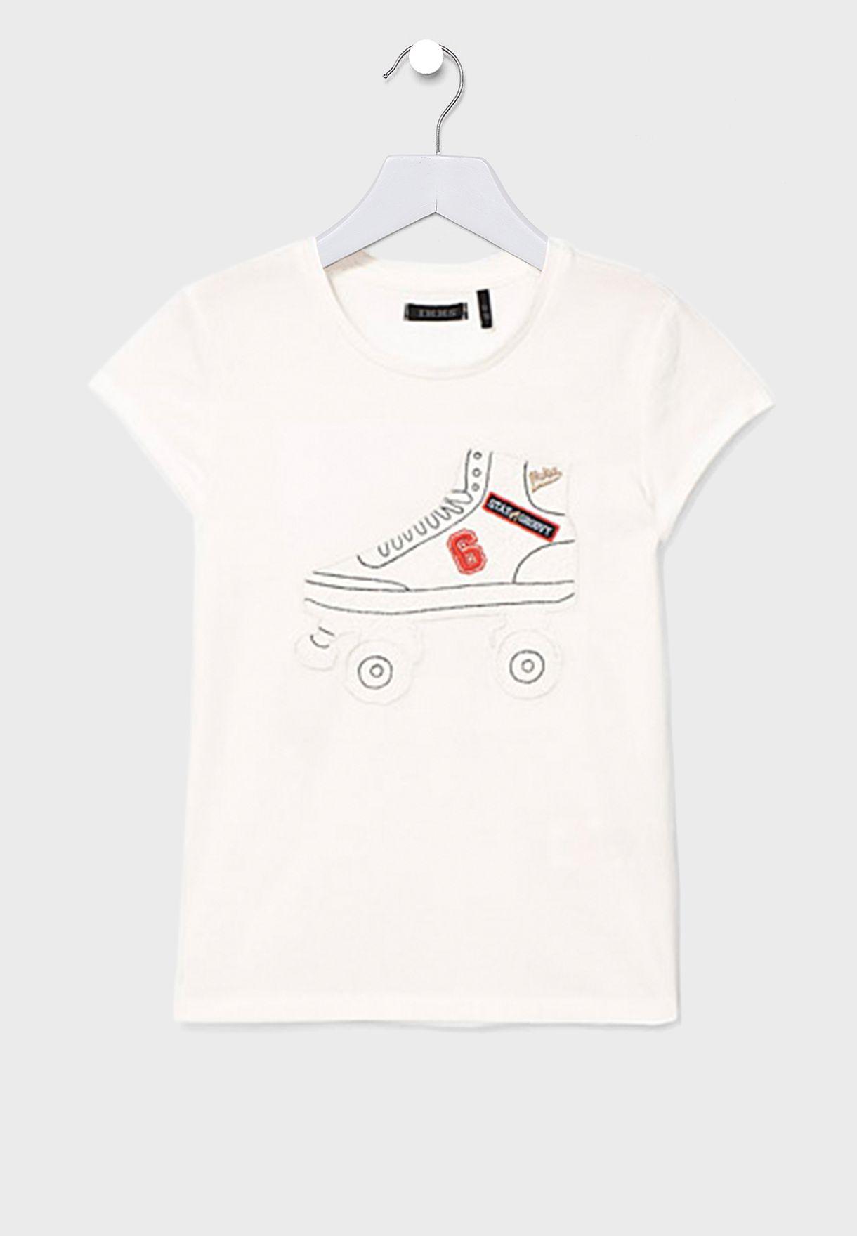 Youth Roller Skates T-Shirt