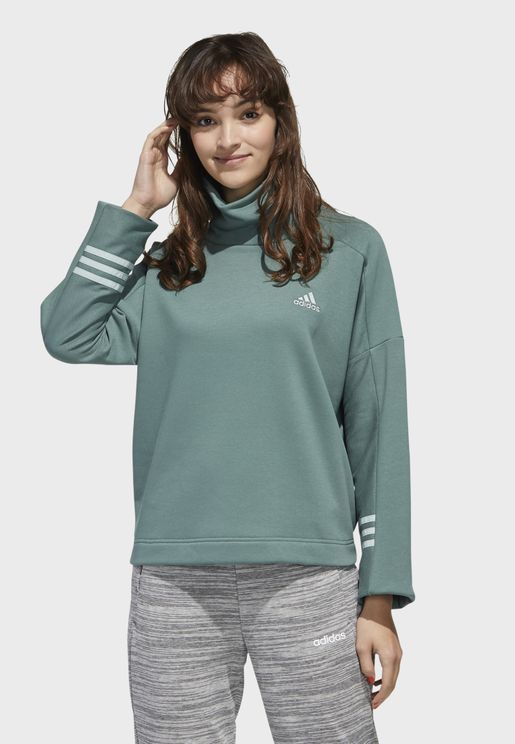 Essential Funnel Neck Sweatshirt