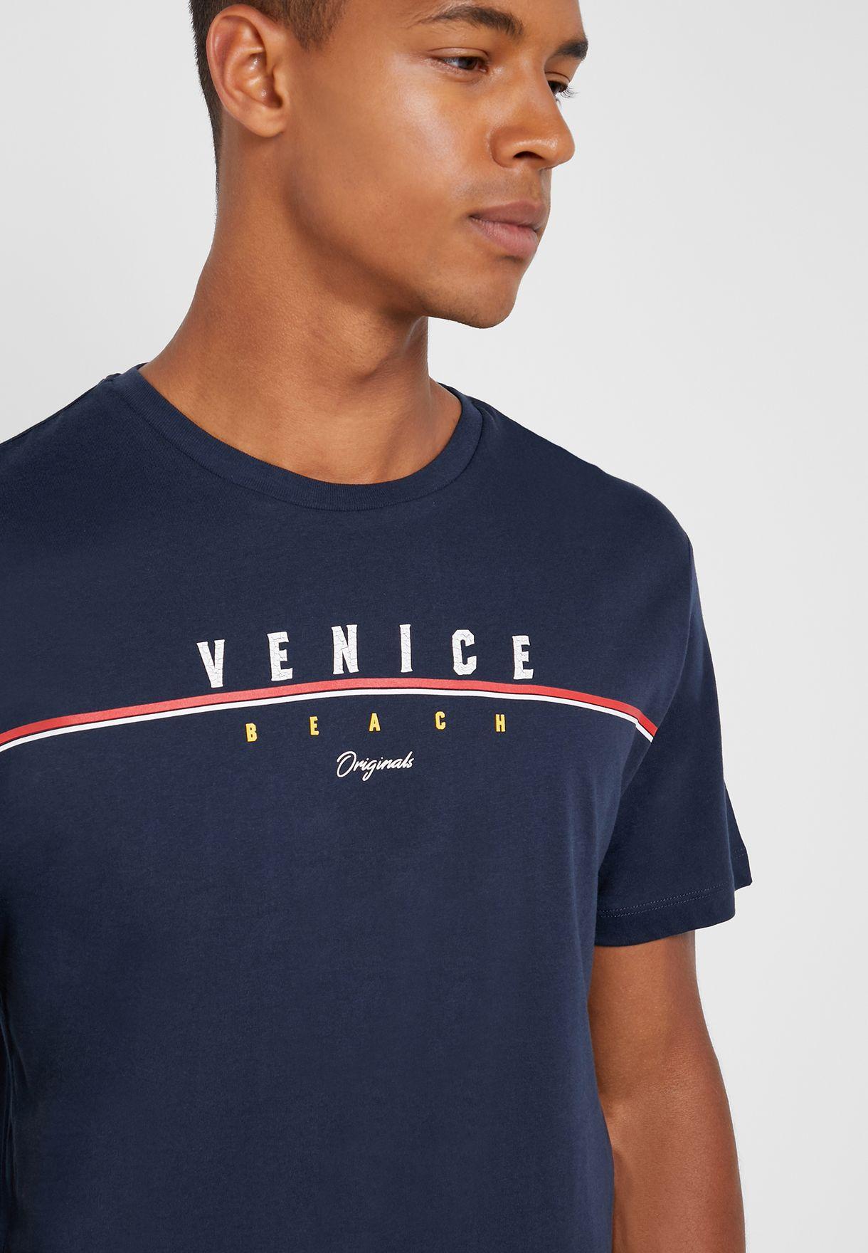 Retro Cali Crew Neck T-Shirt