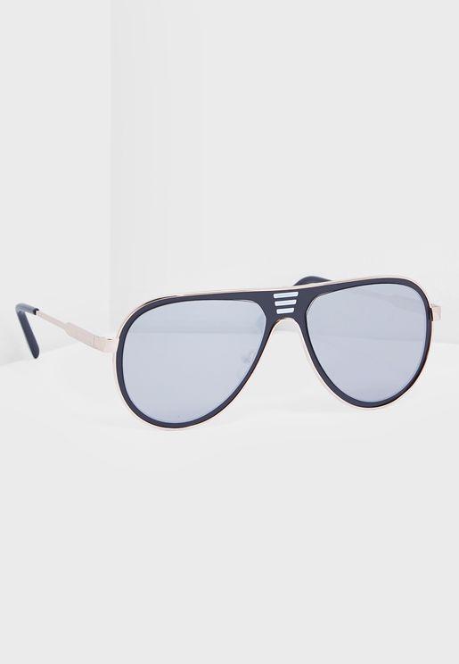 Barnish Aviator Sunglasses