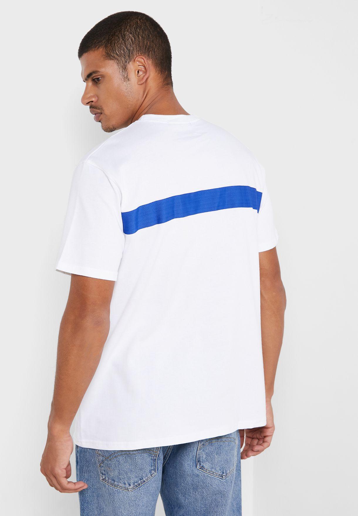 Chest Logo Crew Neck T-Shirt