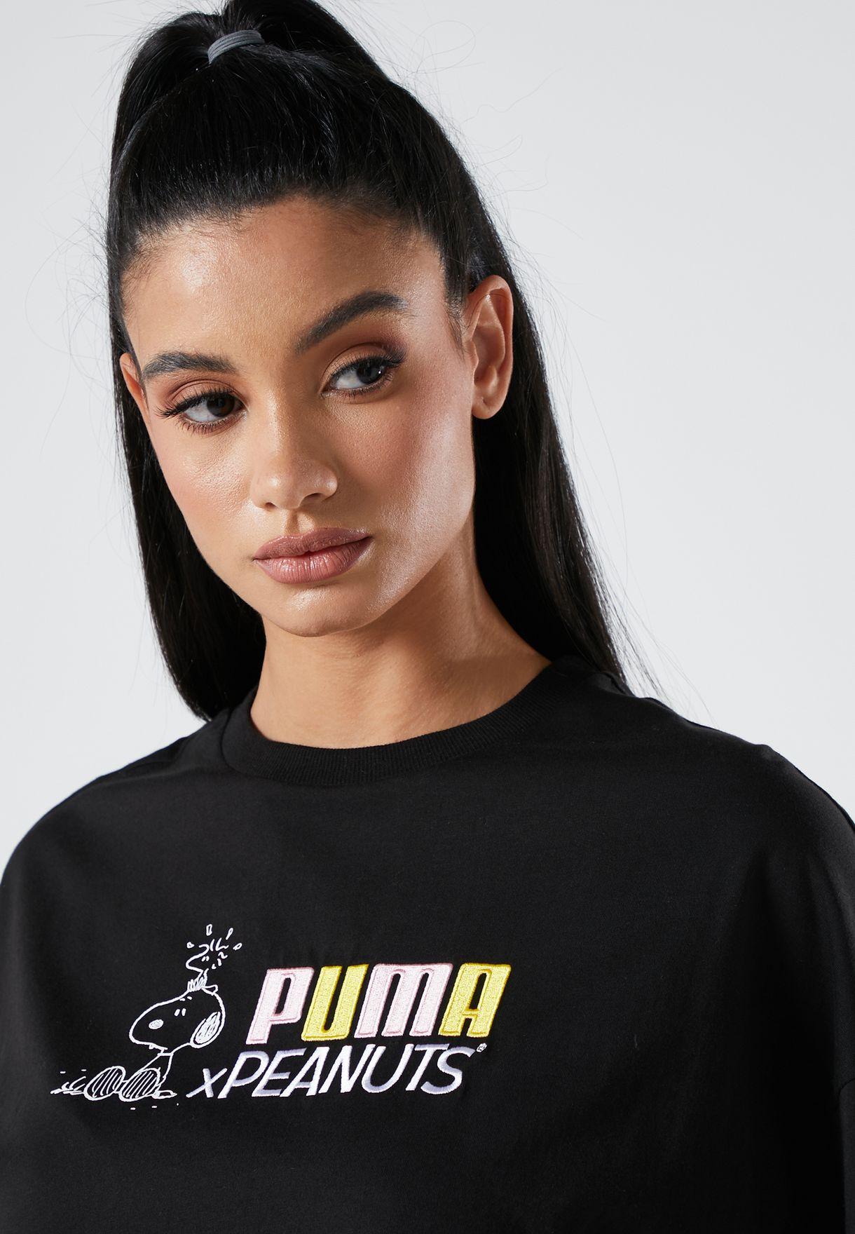PUMA x PEANUTS women t-shirt