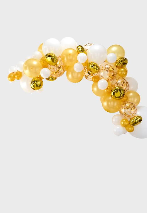 Balloon Arch - Gold