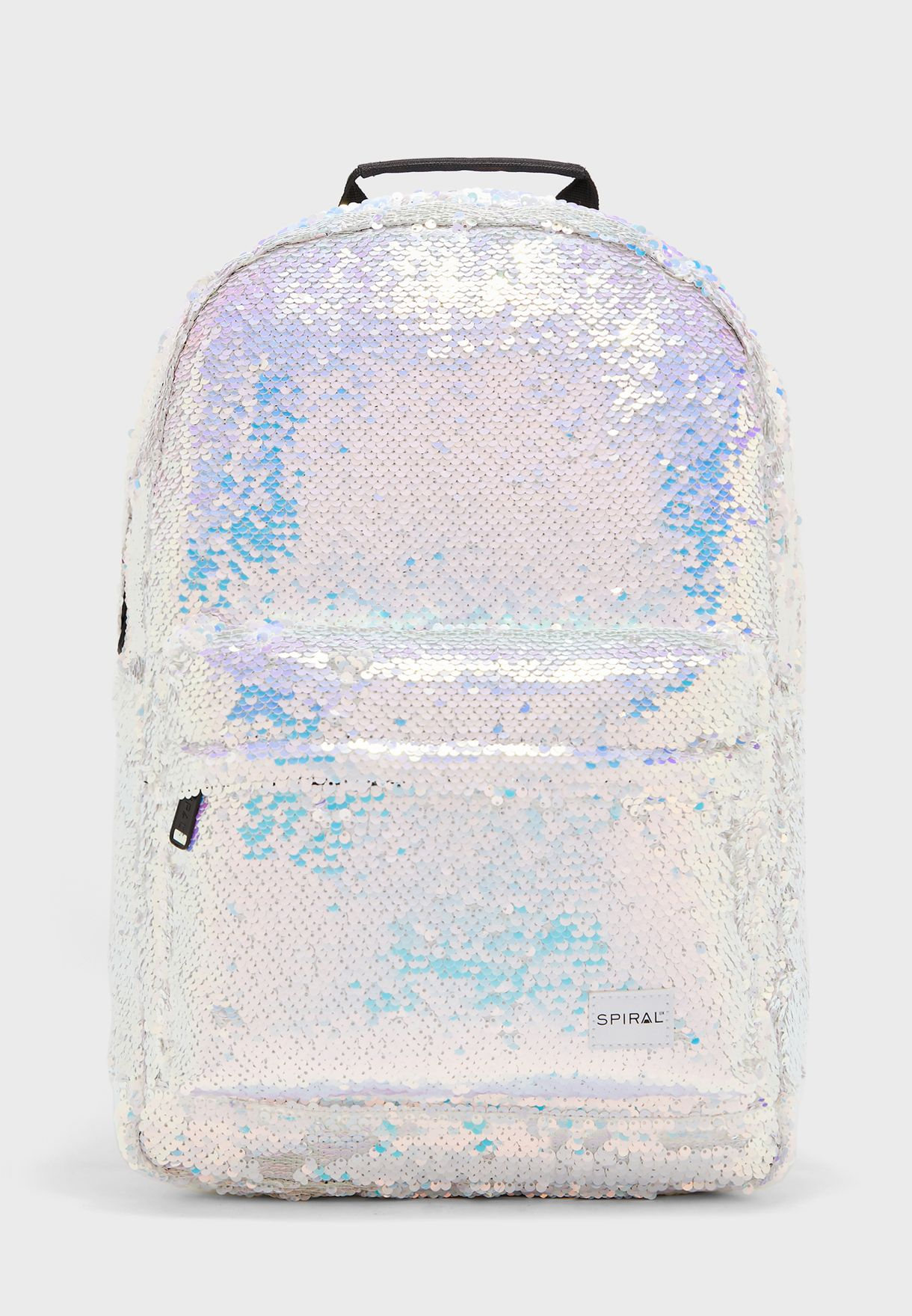 Iridescent Sequins Backpack