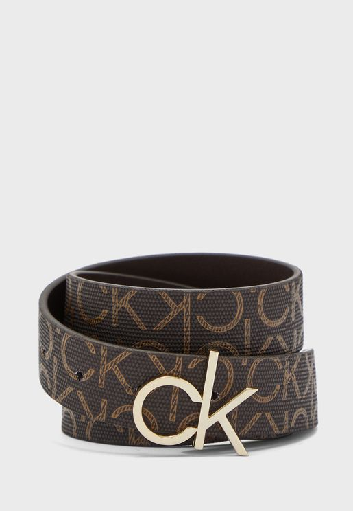 Logo Printed Non Allocated Hole Belt