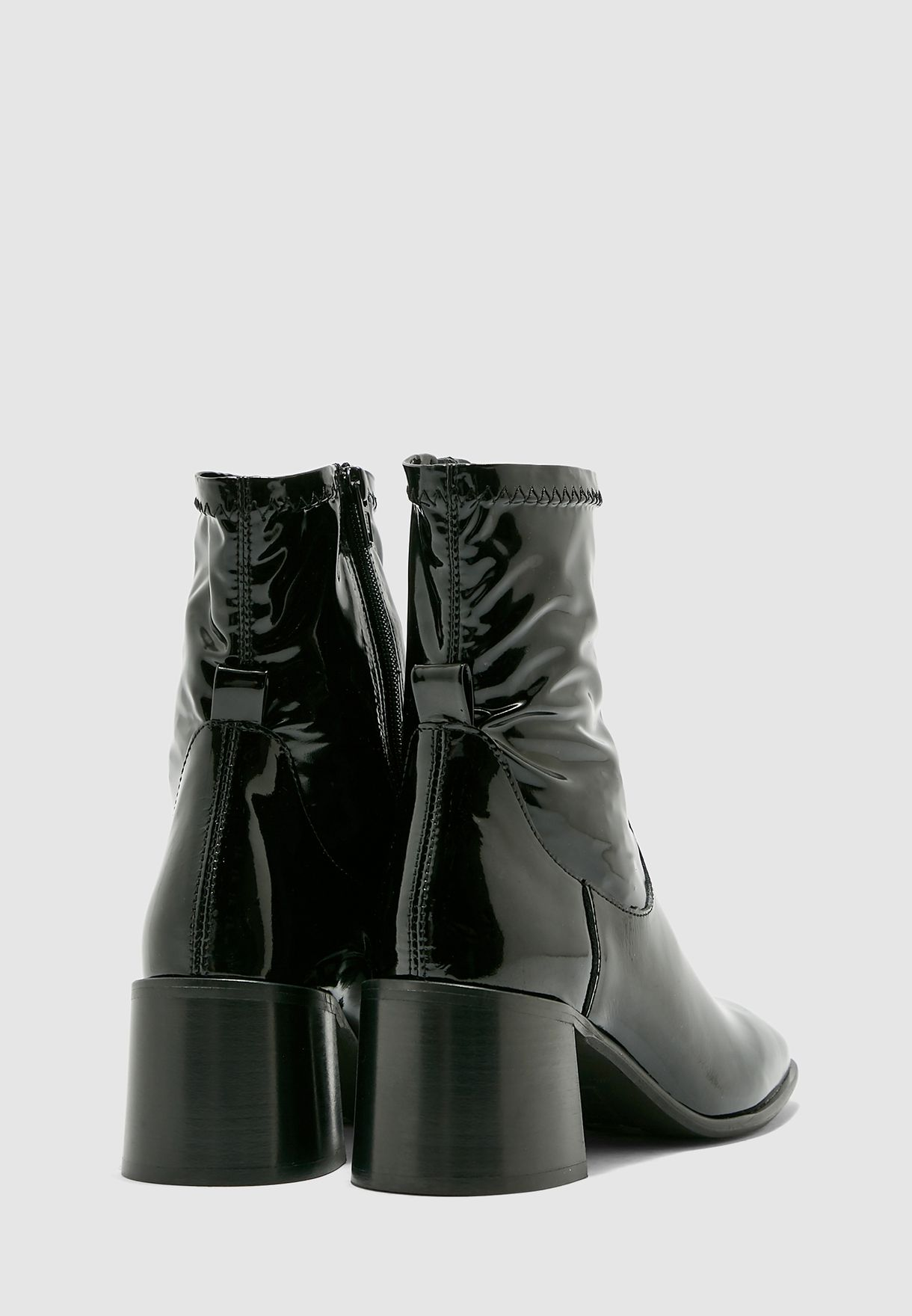 Azra Block Heel Boot