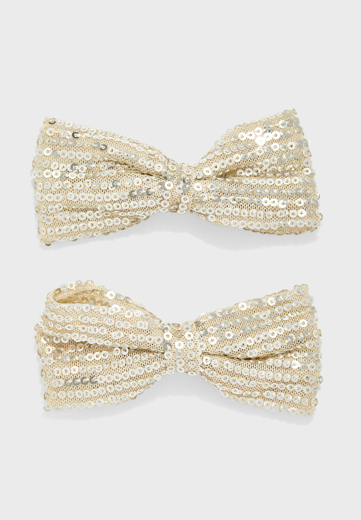 Kids Sequins Bow Clips