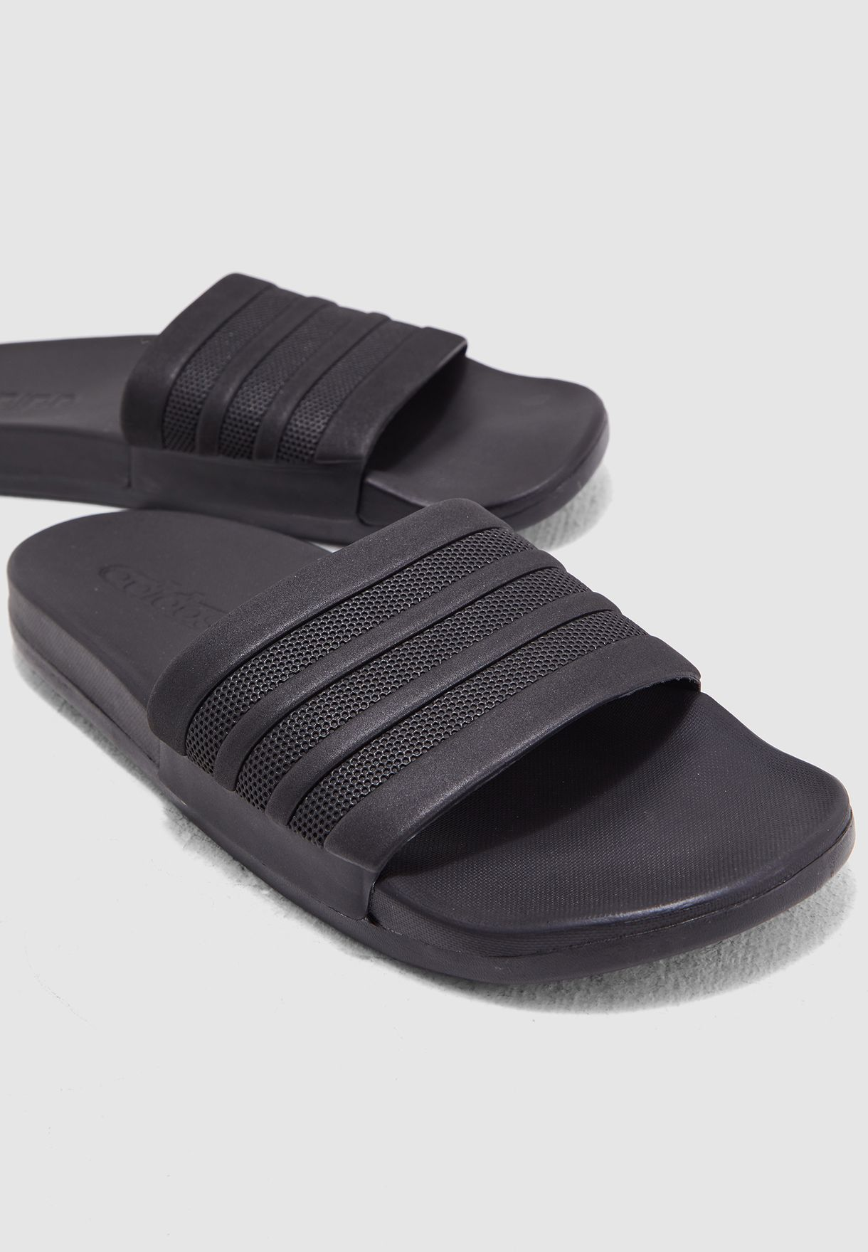 f84dd5ad2f1a Shop adidas black Adilette CF+ Mono Slides S82137 for Men in UAE ...